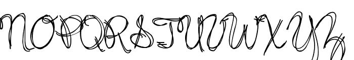 Jazz Essay Regular Font UPPERCASE