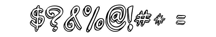 jabjai Light Font OTHER CHARS