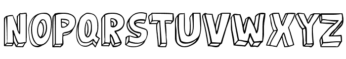 jabjai Light Font UPPERCASE