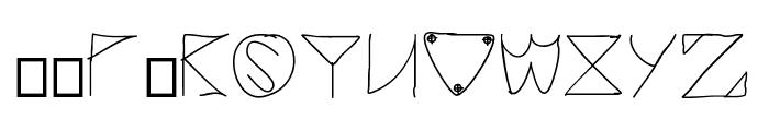 jacuzzi Font UPPERCASE