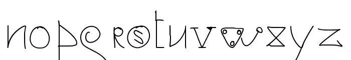 jacuzzi Font LOWERCASE