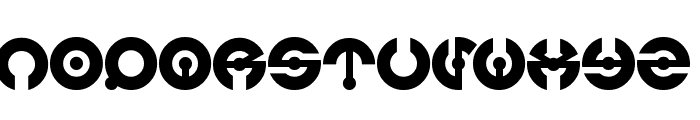 james glover Font LOWERCASE