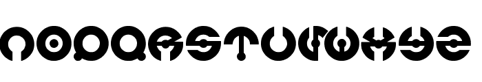 jamesglover Font LOWERCASE