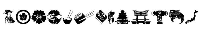 japanapush Font LOWERCASE