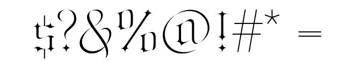 Jabin Font OTHER CHARS