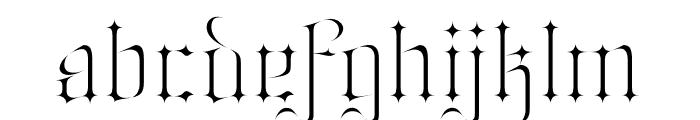 Jabin Font LOWERCASE