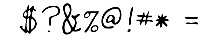 Jackie Regular Font OTHER CHARS