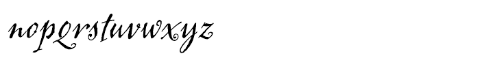 Jackalope LP Regular Font LOWERCASE