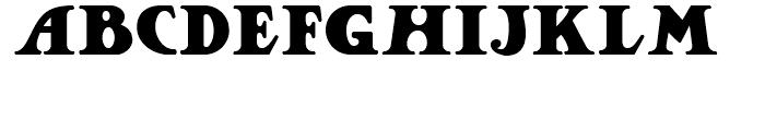 Jackson Park NF Regular Font LOWERCASE