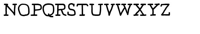 Jaggers Regular Font UPPERCASE