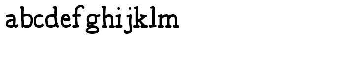 Jaggers Regular Font LOWERCASE