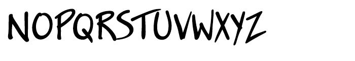 Jakob Regular Font UPPERCASE