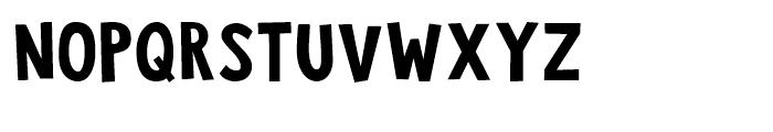 Jalebi Regular Font LOWERCASE