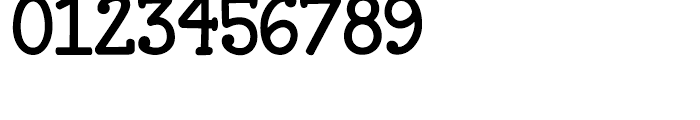 Janda Closer to Free Regular Font OTHER CHARS