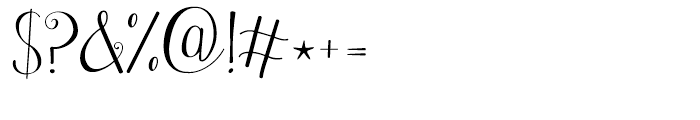 Janda Stylish Monogram Regular Font OTHER CHARS