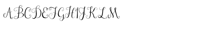 Janda Stylish Monogram Regular Font LOWERCASE