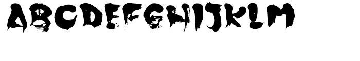 Japoneh Font UPPERCASE