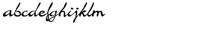 Jargon Medium Font LOWERCASE