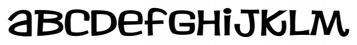 Jacks BV Regular Font LOWERCASE