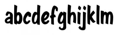 Java Jive  Condensed Font LOWERCASE