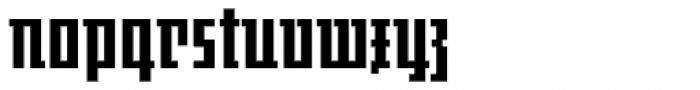 JAF Johannes Original Font LOWERCASE