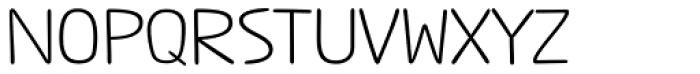 Jabana Alt ExtraExtended Regular Font UPPERCASE