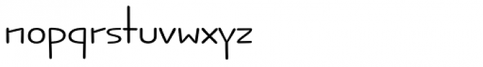 Jabana Alt ExtraExtended Regular Font LOWERCASE