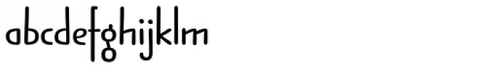 Jabana Alt ExtraWide Bold Font LOWERCASE