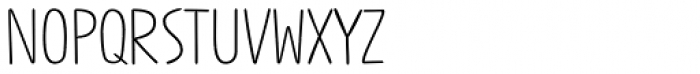 Jabana Alt ExtraWide Light Font UPPERCASE