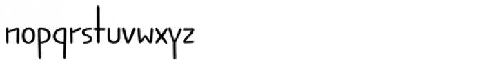 Jabana Alt ExtraWide Regular Font LOWERCASE
