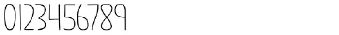 Jabana Alt ExtraWide Thin Font OTHER CHARS