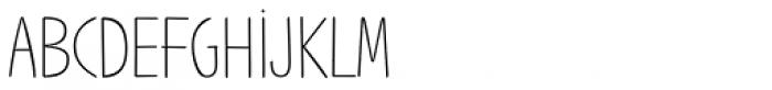 Jabana Alt ExtraWide Thin Font UPPERCASE