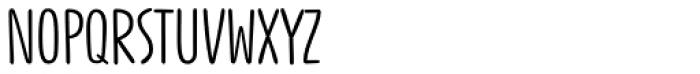 Jabana Alt Wide Regular Font UPPERCASE