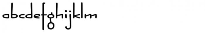 Jabana Extended Bold Font LOWERCASE