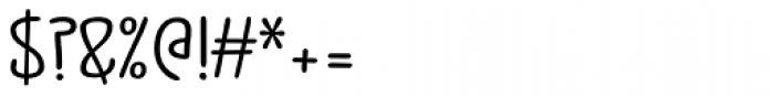 Jabana ExtraWide Bold Font OTHER CHARS