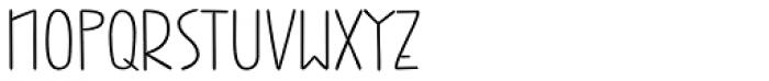 Jabana ExtraWide Light Font UPPERCASE