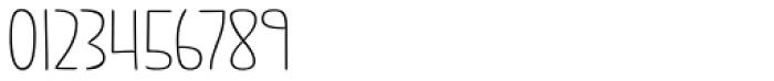 Jabana ExtraWide Thin Font OTHER CHARS