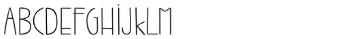 Jabana ExtraWide Thin Font UPPERCASE