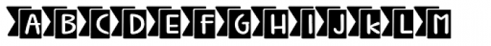 Jabana Extras Catchwords Black Font UPPERCASE
