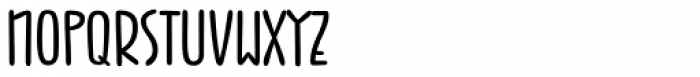 Jabana Wide Bold Font UPPERCASE
