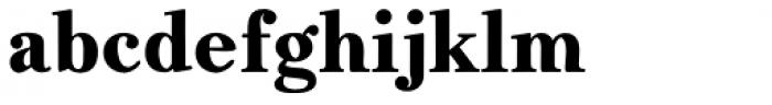 JabcedHy Extra Bold Font LOWERCASE