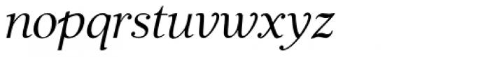 JabcedHy Italic Font LOWERCASE