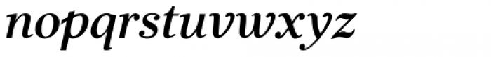 JabcedHy Semi Bold Italic Font LOWERCASE
