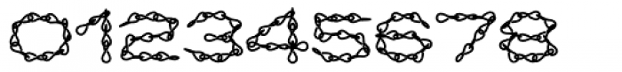 Jack Chain AOE Fill Font OTHER CHARS