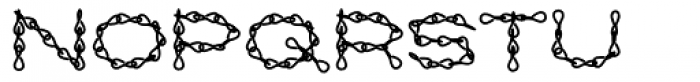 Jack Chain AOE Fill Font UPPERCASE