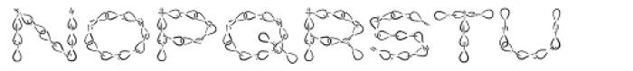 Jack Chain AOE Hilite Font LOWERCASE