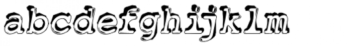 Jackcake Font LOWERCASE