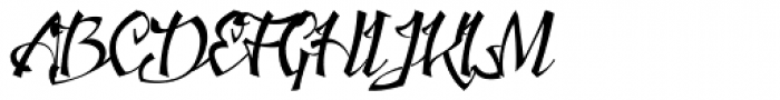 Jacked Eleven Font UPPERCASE