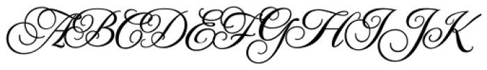 Jackie O ROB Font UPPERCASE