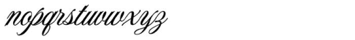 Jackie O ROB Font LOWERCASE